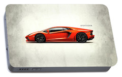 Lamborghini Aventador Portable Battery Charger by Mark Rogan