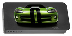 Dodge Viper Portable Battery Charger by Mark Rogan