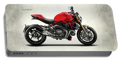 Ducati Monster Portable Battery Charger by Mark Rogan