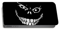 Crazy Monster Grin Portable Battery Charger by Nicklas Gustafsson