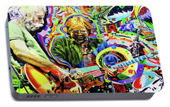 The Boys Of Summer Portable Battery Charger by Kevin J Cooper Artwork