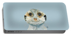 Meerkat Portable Battery Charger by Angeles M Pomata