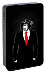 Domesticated Monkey Portable Battery Charger by Nicklas Gustafsson