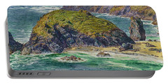 Asparagus Island Portable Battery Charger by William Holman Hunt