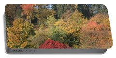 Portable Battery Charger featuring the photograph Autumn In Baden Baden by Travel Pics