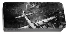 B-17 Bomber Over Germany  Portable Battery Charger by War Is Hell Store