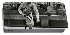 Babe Ruth - Pitcher Boston Red Sox  1915 Portable Battery Charger by Daniel Hagerman
