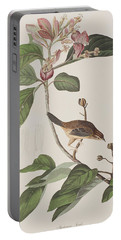 Bachmans Sparrow Portable Battery Charger by John James Audubon