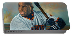 Barry Bonds Portable Battery Charger by Paul Meijering