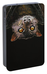 Bat Portable Battery Charger by Michael Creese