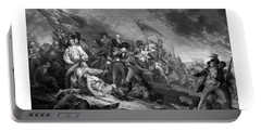 Battle Of Bunker Hill Portable Battery Charger by War Is Hell Store