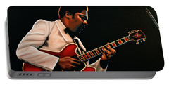 B. B. King Portable Battery Charger by Paul Meijering