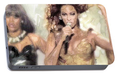 Beyonce 9 Portable Battery Charger by Jani Heinonen