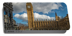 Big Ben London Portable Battery Charger by Adrian Evans