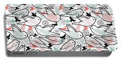 Bird Solid Portable Battery Charger by Elizabeth Taylor