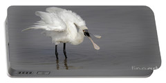 Black-faced Spoonbill Portable Battery Charger by Martin Hale/FLPA