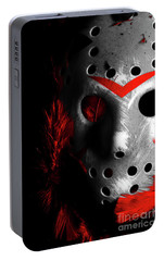 Black Friday The 13th  Portable Battery Charger by Jorgo Photography - Wall Art Gallery