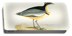 Black Headed Plover Portable Battery Charger by English School