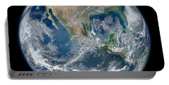 Blue Marble 2012 Planet Earth Portable Battery Charger by Nikki Marie Smith