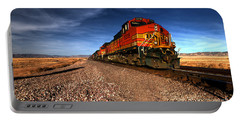 Bnsf Freight  Portable Battery Charger by Rob Hawkins
