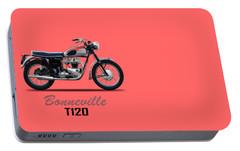 Bonneville T120 1962 Portable Battery Charger by Mark Rogan