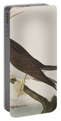 Booby Gannet   Portable Battery Charger by John James Audubon