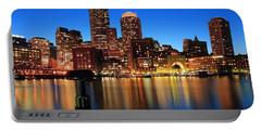 Boston Aglow Portable Battery Charger by Rick Berk