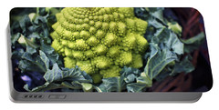 Brassica Oleracea Portable Battery Charger by Heather Applegate