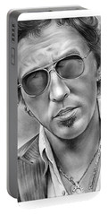 Bruce Springsteen Portable Battery Charger by Greg Joens