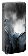 Canary Wharf Portable Battery Charger by Martin Newman