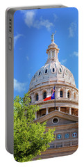 Capitol Of Texas - State Building - Austin Texas Portable Battery Charger by Gregory Ballos