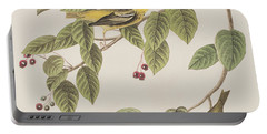 Carbonated Warbler Portable Battery Charger by John James Audubon