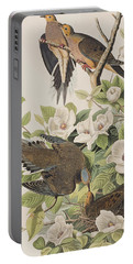 Carolina Turtle Dove Portable Battery Charger by John James Audubon