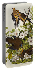 Carolina Turtledove Portable Battery Charger by John James Audubon