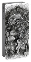 Cecil The Lion Portable Battery Charger by Michael  Volpicelli