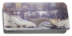 Central Park Portable Battery Charger by Colin Campbell Cooper