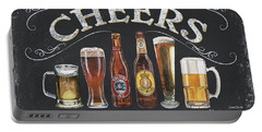 Cheers  Portable Battery Charger by Debbie DeWitt