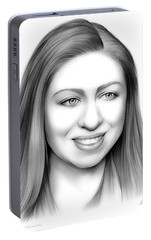 Chelsea Clinton Portable Battery Charger by Greg Joens