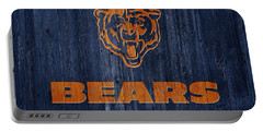 Chicago Bears Barn Door Portable Battery Charger by Dan Sproul