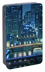 Chicago Bridges Portable Battery Charger by Steve Gadomski