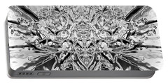 Floral Abstract No. 1-3 Portable Battery Charger by Sandy Taylor