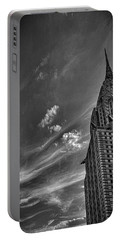 Chrysler Building Nyc Portable Battery Charger by Martin Newman