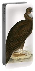 Cinereous Vulture Portable Battery Charger by English School
