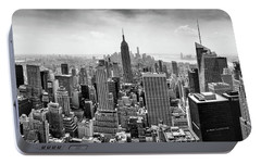 Classic New York  Portable Battery Charger by Az Jackson