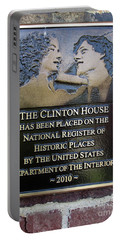 Clinton House Museum 2 Portable Battery Charger by Randall Weidner