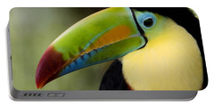 Close-up Of Keel-billed Toucan Portable Battery Charger by Panoramic Images