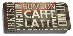 Coffee Of The Day 2 Portable Battery Charger by Debbie DeWitt