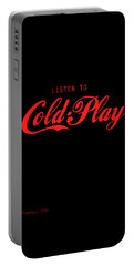 Coldplay Portable Battery Charger by Poojit Rasalkar