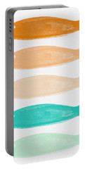 Colorful Fish Portable Battery Charger by Linda Woods