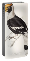 Concave Hornbill Portable Battery Charger by John Gould